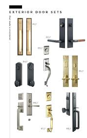 black front door hardware. Black Front Door Handle Modern Hardware Statement Knobs