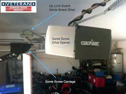 genie garage door opener won t close genie pro max garage door opener won t close within programming genie garage door opener wont open all the way