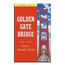 How High To Hang A Growth Chart Growth Chart Golden Gate Bridge