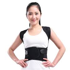 Adjustable Back Support Therapy Posture Brace Belt Shoulder Lumbar Straight Corrector adjustable back support therapy posture brace belt shoulder lumbar