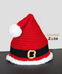 Crochet Santa Hat Pattern Amazing Decorating Ideas