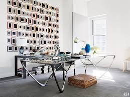 design office desk home. Offices Of Fashion Industry Insiders: Diane Von Furstenberg, Reed Krakoff, And More Photos | Architectural Digest Design Office Desk Home 0