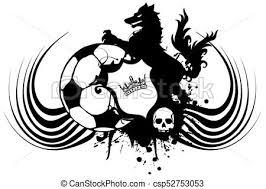 Futbolベクタークリップアートイラスト388 Futbolクリップアートeps