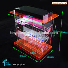 E Liquid Display Stand Factory Wholesale Custom Acrylic Eliquid Juice Display Stand E 5