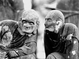 b w travel photography essay ese culture edge of humanity  gohyaku rakan gossiping monks