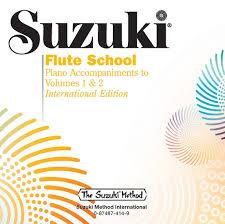 Mary Had A Little Lamb Flute Finger Chart Suzuki Flute School Cd Volume 1 2 Piano Acc