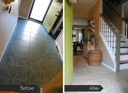 can you install ceramic tile over linoleum flooring designs