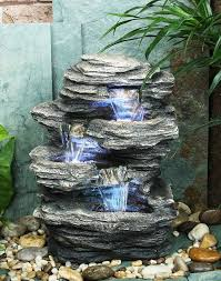 soothing outdoor fountain for your