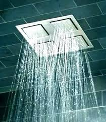 kohler rain shower head waterfall real faucets tub stylish for rainfall showers k overhead showering panel kohler rain shower