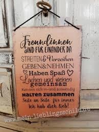 Schilder Mit Sprüchen über Freundschaft Und Familie