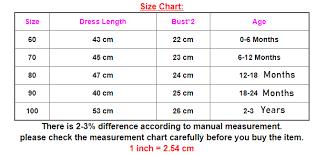 Floral Top Tutu Dress Sizing Chart Flowerboxmalaysia