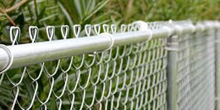 Metal chain fence gate Rust Chainlink Fencing Garden Fencing London Fencing Gates