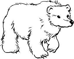 Small Picture Grizzly Bears Coloring Pages At Bear New glumme