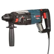 bosch bulldog hammer drill. bosch 8 amp corded 1-1/8 in. sds-plus variable speed rotary hammer drill with auxiliary handle and carrying case-rh228vc - the home depot bulldog h