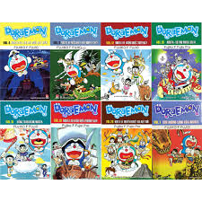 Sách - Combo 8 quyển truyện tranh Doraemon dài - được chọn tập