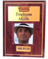 Employee Of The Month Template With Photo Employee Of The Month Frame Hobby Lobby Free Template Emmajayne