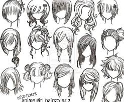 anime chibi drawing hair. Interesting Anime How To Draw Manga Female Curly Hair Google Search  Drawing Intended Anime Chibi Hair S