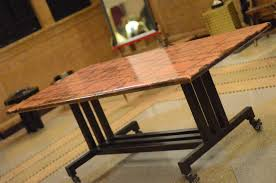 Copper Top Kitchen Table Plumsiena Copper Top Table