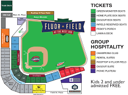 Greenville Drive Stadium Seating Chart Greenville Drive Seating Chart