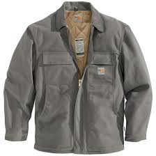 Carhartt Flame-resistant Heavyweight Quilt-lined Duck Traditional ... & Carhartt Flame-resistant Heavyweight Quilt-lined Duck Traditional Coat,  Steel Adamdwight.com