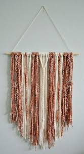 fabric wall hanging fabric wall hanging in blush pink rust and cream fabric wall hangings fabric wall hanging