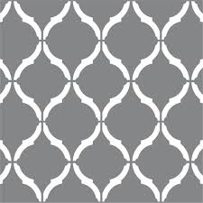 moroccan wall stencil large 12 x9 craft airbrush pattern painting