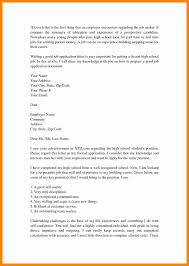 Cover Letter For Part Time Job Basic Resume Template For Highschool