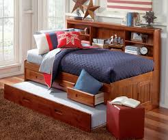 Captains Bed King. Great Queen Captains Bed With Bookcase ...