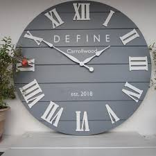 33 personalized wall clock large wall