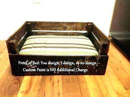 wooden dog bed frame wooden wooden dog bed frame plans
