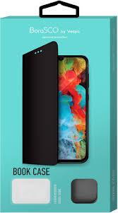 <b>Чехол</b>-<b>книжка для Xiaomi Redmi Note</b> 7/7Pro (черный), Borasco ...
