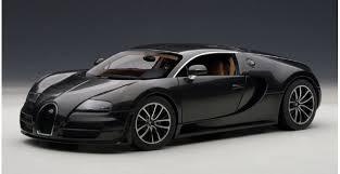 Bugatti veyron 16.4 super sport coupé 2012 châssis n° vf9sg25252m795032 Autoart 70937 Bugatti Veyron Super Sport Carbon Black 1 18
