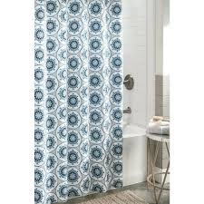 polyester patterned shower curtain stall size shower curtain rod bathroom design stall size shower curtain