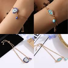 Designer Evil Eye Bracelet Details About Womens Fashion Jewelry Designer Gold Evil Eye Bracelet Charm Turkish Cz Gift