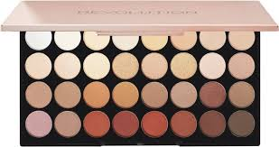 makeup revolution london flawless 3 resurrection eyeshadow palette modern renaissance dupe