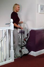 Acorn Stair Lifts Model 120 Indoor Stand and Sit Frame Stair Lift