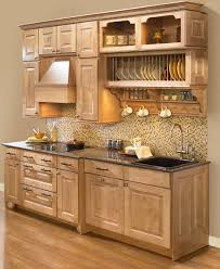 Exquisite Kitchen Decoration With Wooden Plate Rack Wall Mounted : Good  Kitchen Decoration Design Interior Ideas
