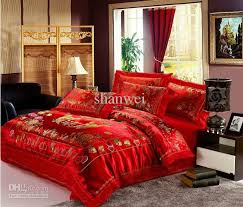 tapestry satin red love heart bedding comforter sets for queen intended for incredible home red duvet covers king size decor