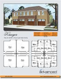 100  Quadplex Plans   4 Plex Plan J0121 12 4 Plansource Inc Quadplex Plans