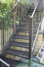 London Steel Staircase - Outdoor metal stairs