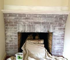painted brick fireplace the power of whitewash how to first coat white wash on with lime kitchen distressed brick fireplace