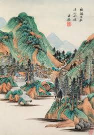 fine classical chinese paintings calligraphy