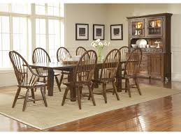 Broyhill Dining Room Table Broyhill Furniture Attic Rustic Leg Dining Table With Leaves
