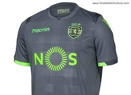 19 Kit Away Sporting Macron Kits 2018 Blog 18 Lisbon Shirt Football 19