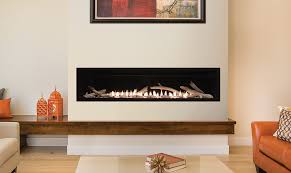 vfll60 logs roomscene lg boulevard 60 inch linear fireplace with black reflective