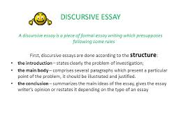 essay writing can be fun ppt video online  discursive essay