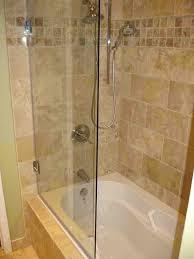 frameless bathtub door bath shower doors glass elan in x in appealing shower doors frameless tub