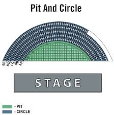 Pacific Amphitheater Pit And Circle Seating Charts