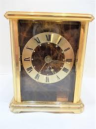 a vintage desk clock by the brand jaz