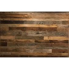 vintage timber 3 8 in x 4 ft random width 3 in 5 in 10 59 sq ft brown grey barnwood planks decorative wall panel 2101 the home depot